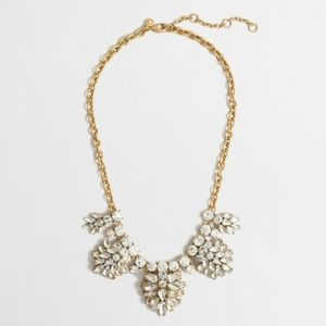 J. Crew Factory Crystal Necklace